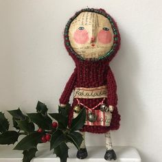 """339 Likes, 38 Comments - Karina Harrison (@miss_kina_makes) on Instagram: """"Here's the falala number on her own. #misskina #papiermachedolls #papiermache #doll…"""""""
