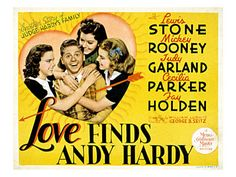Andy Hardy movies are the best!!