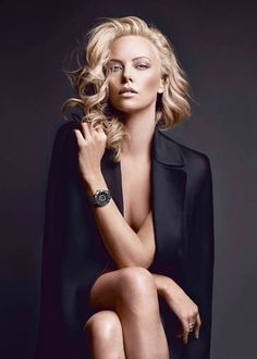 Dior VIII Watch. Oh and Charlize Theron