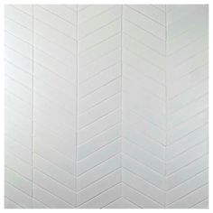 Merola Tile Metro Soho Chevron Matte White 1-3/4 in. x 7 in. Porcelain Floor and Wall Tile (1 sq. ft. / pack)-FMTSHCMW - The Home Depot