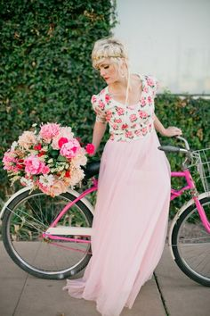 Gorgeous bicycle photo shoot