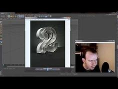 Cinema 4D Tutorial - Create a cool looking Plastic and Glass Type - YouTube