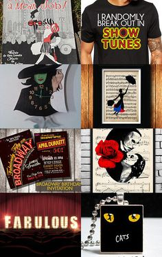 Wonderful World of Broadway! by Frivolous Fun Boutique Designs by Tiffanie on Etsy--Pinned with TreasuryPin.com