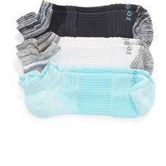 Women's Zella 3-Pack Running Socks Running Socks, Sport Socks, Bikinis, Swimwear, Under Armour, Shoe Bag, Shoes, Collection, Shopping