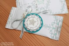 Goodie Stampin Up Give Away Gift Idea Verpackung Tischdekoration 039