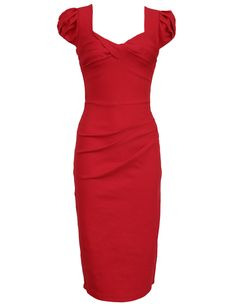 MUXXN Women's 50s 60s Vintage Casual Cap Sleeve Office Pencil Dress Click Link : https://www.amazon.com/dp/B00Q296OK8 Promotion Price : $9.99 You can get as much as you want,there will be more surprises Like our page: https://www.facebook.com/Fashion-Shop-302516476805697/ Share this product with your SNS (Facebook, youtube,pinterest,instagram etc)
