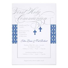 25 Best First Holy Communion Invitations Images First Holy