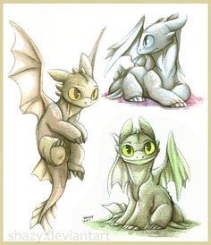 From shazy ...  How to train your dragon, toothless, night fury, dragon