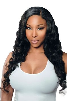 NOTE: ALL Peruvian Orders take 5 business days. Our 100% Virgin Peruvian wavy hair is soft to the touch and has a natural light wave pattern. Our Peruvian wave looks great in its natural state, presse Loose Curls Hairstyles, Sew In Hairstyles, Spring Hairstyles, Natural Hairstyles, Brazilian Loose Wave, Brazilian Hair Bundles, Brazilian Hair Weave, Remy Human Hair, Human Hair Extensions