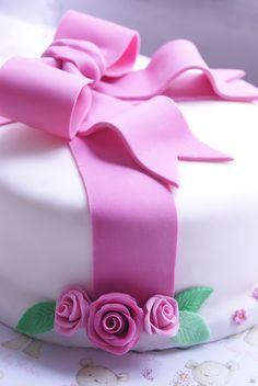 Regalo y tarta a la vez, perfecto para el día de la madre