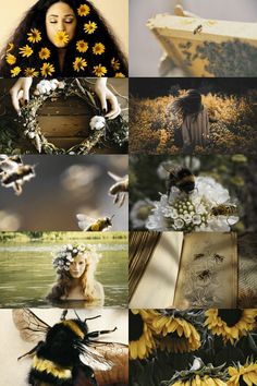 bee witch aesthetic (more here)