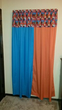 OKC Thunder Curtains Thunder, Curtains, Warm, Quilts, Home Decor, Blinds, Decoration Home, Room Decor, Quilt Sets