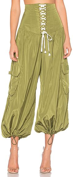 68bd1010bb4 Shop for Fenty by Puma Corset Genie Pant in Olive Branch at REVOLVE.