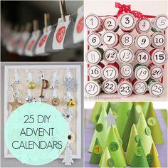 25 DIY Advent Calendars