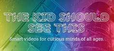 Smart videos for curious minds of all ages: Science, art, nature, animals, space, technology, DIY, food, music, animation, and more