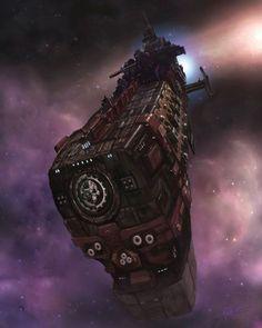 the Millenium, Roguetrader fleets venture deep into the unexplored regions of the Universe. Letme introduce you the Eternal Praetorian, a light cru. Warhammer 40k Rpg, Warhammer Fantasy, Warhammer Terrain, 40k Terrain, Science Fiction, Battle Fleet, Cyberpunk, Battlefleet Gothic, Rogue Traders