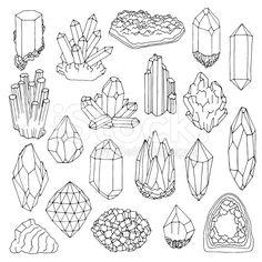 stock-illustration-85093741-set-of-blue-crystals-gem-and-minerals.jpg (556×556)