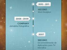 Dribbble - Jobs Timeline (WIP) by Daniela Alves Goal App, Timeline Design, Ui Patterns, Mobile Application Development, Ui Inspiration, Data Analytics, User Interface Design, Ui Design, Graphic Design