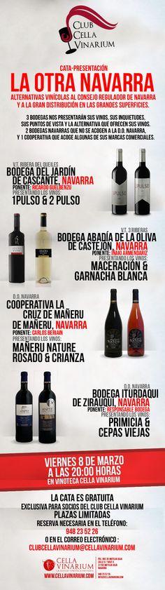 Cata-Presentación de vinos y bodegas: LA OTRA NAVARRA