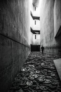 Danile Libeskind's Jewish Museum - looks like a moving but harrowing place.