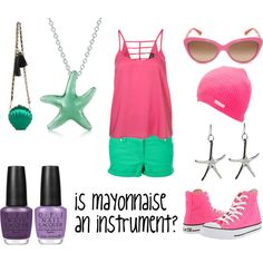 Patrick Star, created by favourite-fictional-fashions on Polyvore