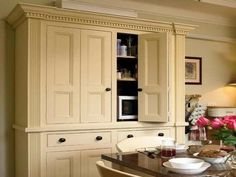 pantry cabinets free standing | The terrific pics above, is section of Free Standing Pantry Cabinet ...