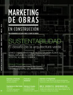 Tapa de Revista marketing de obras
