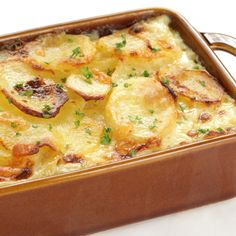 A Bacon and Potato casserole recipe that is super easy to make and extra tasty.