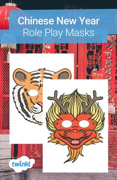 Explore Chinese New Year in a fun and different way with role play! Fantastic fun and perfect for encouraging your children to really take on their roles, role play masks are an absolute must for any theme. Click to download and find more Chinese New Year teaching resources over on the Twinkl website. #chinesenewyear #cny #yearoftheox #teachingresources #teaching #twinkl #twinklresources #parents #roleplaymasks #homeeducation #display #classroominspiration #classroomideas Animal Posters, Flags Of The World, Classroom Inspiration, Numeracy, Eyfs, Role Play, Chinese New Year, Fireworks, Teaching Resources