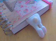 Lesezeichen Hase... Marcapaginas conejo