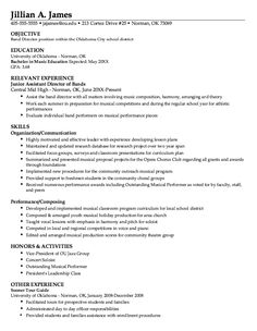 Example Of Cooperative Education Resume  HttpExampleresumecv