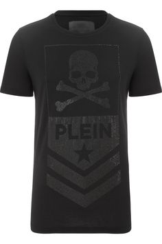 "PHILIPP PLEIN - Official Website | T-SHIRT ""PLEIN"" 