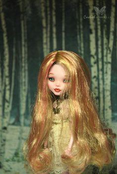 1 6 OOAK Mattel Monster High MH Draculaura Doll Custom Repaint by Kmiro   eBay