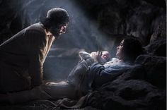 Jesus's birth (aka the REAL meaning/start of Christmas) ...scene from The Nativity movie