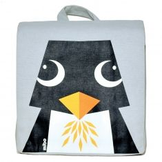 Organic Kids Backpack Penguin