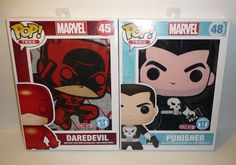 SMALL Funko Pop Tees Lot - Marvel Punisher Daredevil Short Sleeved T-Shirts S