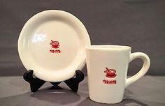Williams Sonoma Egg Nog Mug Holiday Drinks Coffee Cup Saucer Set   eBay