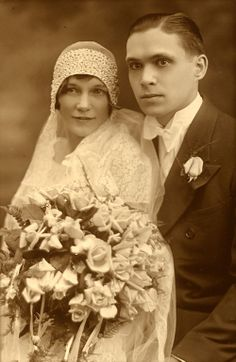 1929 #vintage #bride