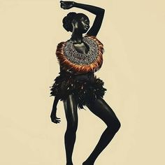 The Art of Movement. Art by @asiko_artist  ______ #Osengwa | #AfricanArt | #AfricanFashion | #AfricanMusic | #AfricanStyle | #AfricanPhotography | #Afrocentric | #Melanin | #African | #Art | #AfricanInspired | #InspiredByAfrica | #BlackIsBeautiful | #ContemporaryArt | #OutOfAfrica