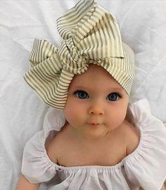 53 Baby Girls Clothing Ideas In - babybilder - Baby Kind, Cute Baby Girl, Baby Girls, Baby Boy, Kids Girls, Baby Turban, Turban Hat, Little Babies, Cute Babies
