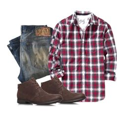 A fashion look from July 2014 featuring mens long sleeve shirts, mens ripped jeans und mens chukka boots. Browse and shop related looks. Look Fashion, Autumn Fashion, Fashion Outfits, Womens Fashion, Fashion Trends, Sharp Dressed Man, Well Dressed, Mens Stitch Fix, Casual Outfits