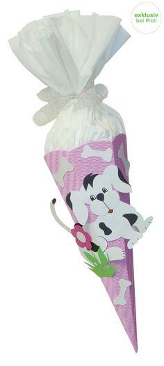 Mädchen Schultüte Hund rosa inkl. Schulstarterpaket finden Sie unter http://www.prell-versand.de/Basteltechniken/Bastelmaterial/Schultueten/Schultueten-nur-bei-Prell/Schultuete-Bastelset-Hund-rosa-inkl--Schulstarterpaket-GRATIS.html