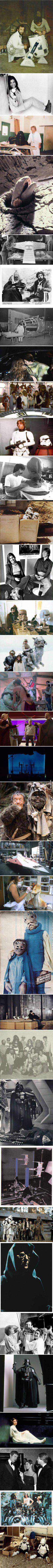 Star Wars 1-7 Behind The Scenes Photos (Part 4)