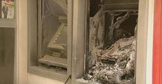 Em Caconde SP: Homem entra em agência bancária e ateia fogo em dois caixas eletrônicos