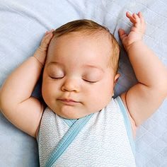 Myth: The safest way to put an infant to sleep is on her stomach. #Babies #parents_com