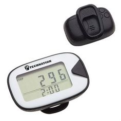 Classic Craft Black Pedometer | Health Promotions Now