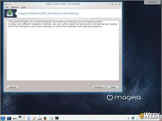 Mageia 5 Linux Distro Offers New Tools, Improved Stability: 6 - Windows Importer Eases Migration