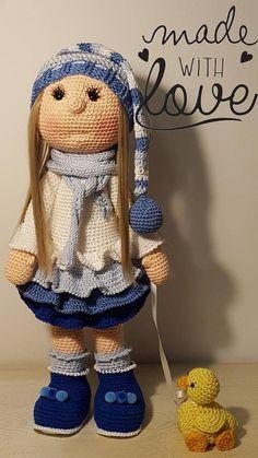 Tutoriel en français Poupée Willow et Coin-coin Crochet
