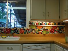 mozaic backslash fiesta | Need help with backsplash behind range - Home Decorating Design ...