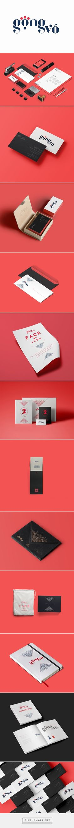 Gong Vo Branding by Tran Linh Tam | Inspiration Grid | Design Inspiration... - a grouped images picture - Pin Them All